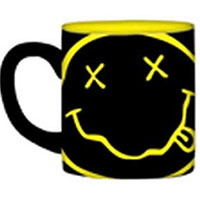 Nirvana- Smiley Face & Logo 14oz Mug