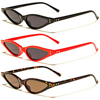 Cat Eye Retro Sunglasses (Various Colors!)