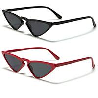 Cat Eye Retro Womens Sunglasses (Various Colors)