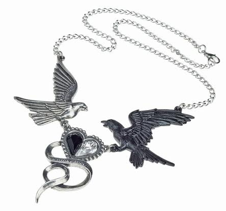 Epiphany of St. Corvus Necklace by Alchemy England 1977