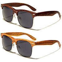 Wood Print Sunglasses (Various Colors!)