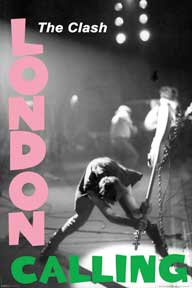 Clash- London Calling poster