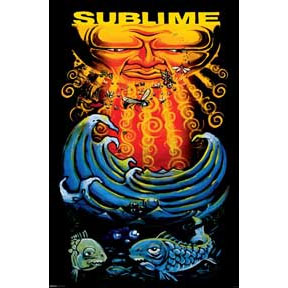 Sublime- Fish poster (C8)