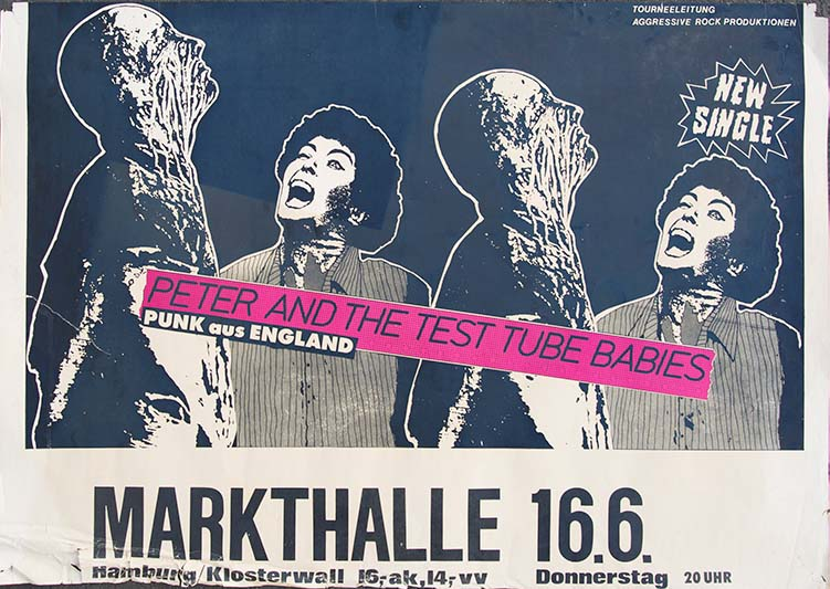 Peter and the Test Tube Babies - German Single Poster - Fine Art Print by Annex
