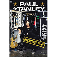 Paul Stanley- Backstage Pass (Hardcover Book)