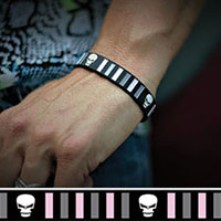 Don't Be Fooled silicone bracelet by Punk Banz