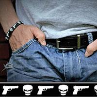 Last Straw silicone bracelet by Punk Banz