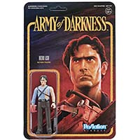 Army Of Darkness Reaction Figure- Ash With Chainsaw Hand