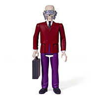 Megadeth Reaction Figure- Vic Rattlehead
