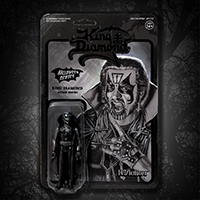 King Diamond Reaction Figure- Black Halloween Edition