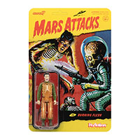 Mars Attacks- Burning Human Flesh Reaction Figure