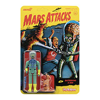 Mars Attacks- Alien With Burning Dog Reaction Figure