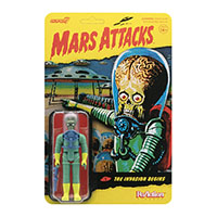 Mars Attacks- Alien With Gun Reaction Figure