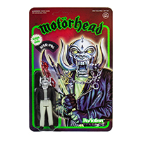 Motorhead- Warpig Reaction Figure- Glow In The Dark