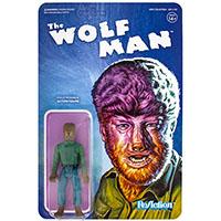 Universal Monster Reaction Figure- Wolfman