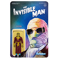 Universal Monster Reaction Figure- The Invisible Man