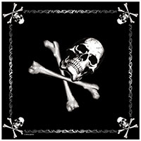Jolly Roger Bandana by Rothco