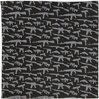 Guns Bandana by Rothco- Black