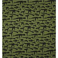 Guns Bandana by Rothco- Olive Drab
