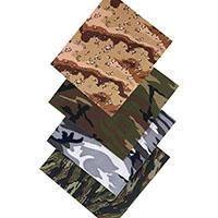Large Camoflage Bandana by Rothco