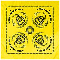Don't Tread On Me (Yellow) Bandana by Rothco