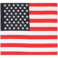 US Flag Bandana by Rothco