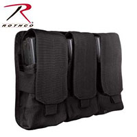 Universal Triple Mag Rifle Pouch by Rothco- Black