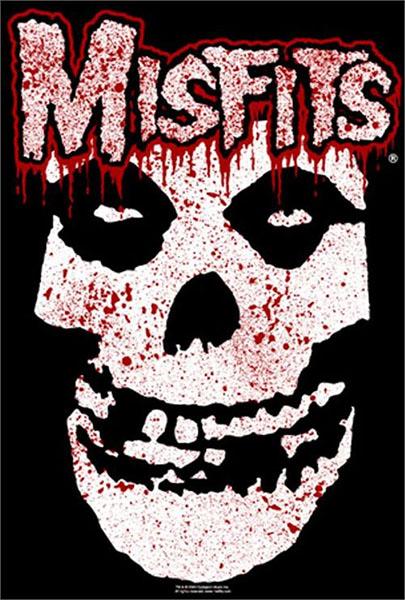 Misfits- Bloody Skull & Logo Poster (D6)