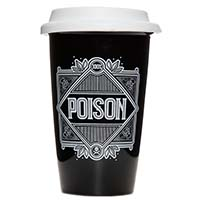 Hot or Cold Drink Tumbler from Sourpuss - Poison