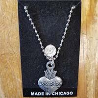 Sacred Heart Mobtown Pendant - SALE
