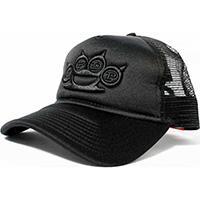 Five Finger Death Punch- Brass Knuckles on a black trucker hat