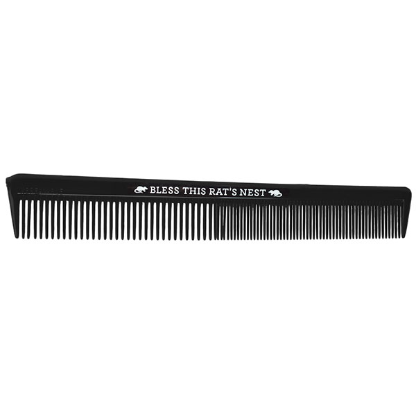 Bless This Rats Nest Comb - by Sourpuss