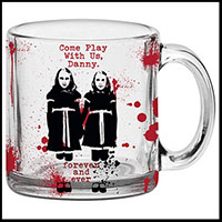 Shining- Come Play With Us Blood Splattered Clear 17.5oz Mug