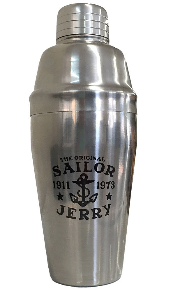 Stainless Cocktail Shaker by Sailor Jerry
