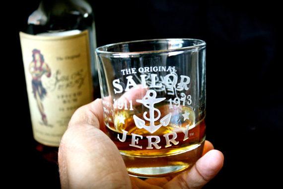 High Ball Logo Glass Set by Sailor Jerry