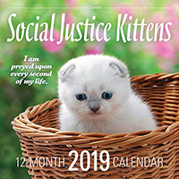 Social Justice Kittens 2019 Calendar (Super Sale price!)