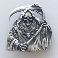 Grim Reaper belt buckle (bb129)