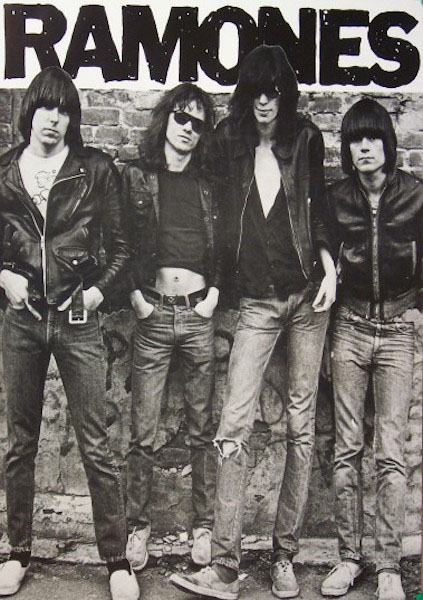 Ramones- First Album Cover poster (B3)