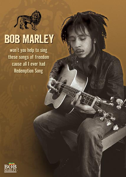 Bob Marley- Won't You Help To Sing... Poster