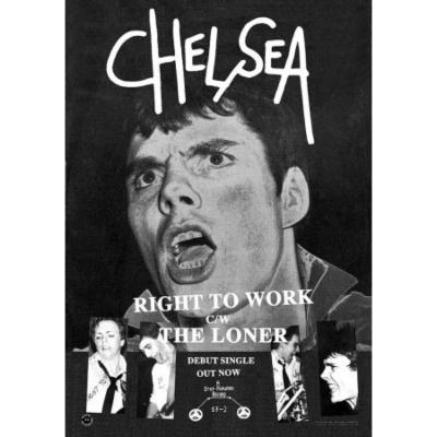 Chelsea- Right To Work Poster (D1)