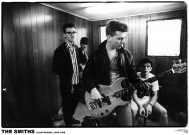 Smiths- Glastonbury 1984 poster