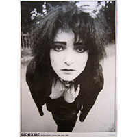 Siouxsie & The Banshees- Holland 1981 poster