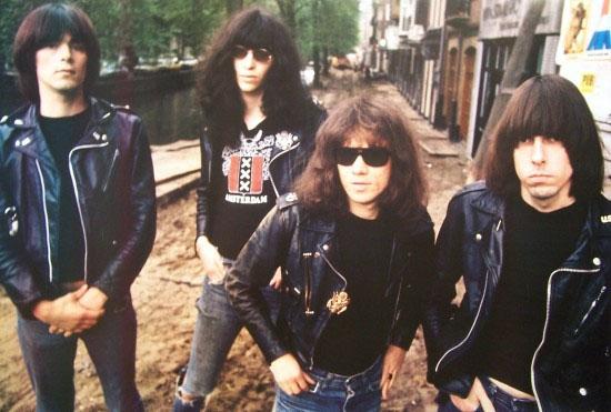 Ramones- Amsterdam 1977 poster