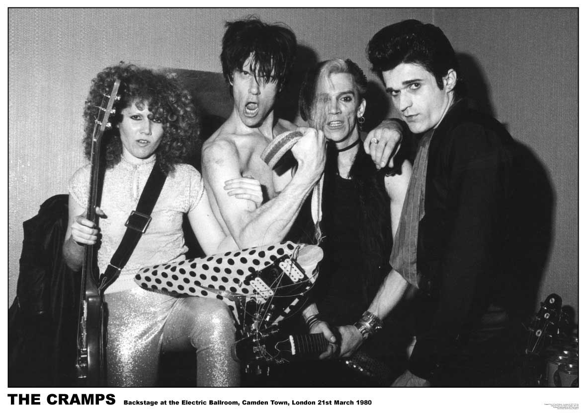 Cramps- Electric Ballroom 1980 Poster (C7)