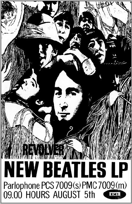 Beatles- Revolver poster
