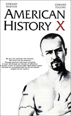 American History X- Movie poster - Movie/TV/Personality ...
