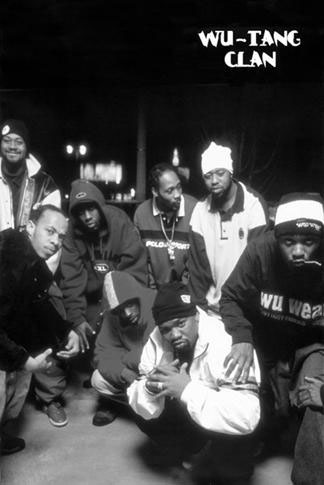 Wu Tang Clan- Band Picture poster