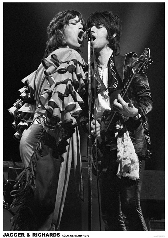 Rolling Stones- Koln, Germany 1976  poster