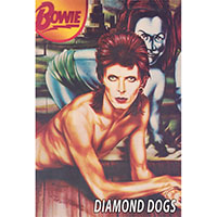 David Bowie- Diamond Dogs poster