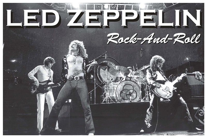 Led Zeppelin- Rock And Roll poster